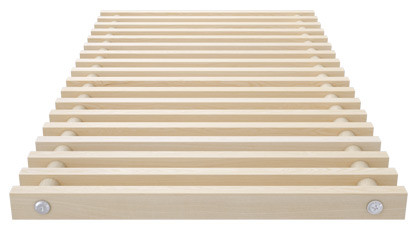 Roll-up wooden grill – ash – Verano