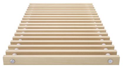 Roll-up wooden grill – beech – Verano