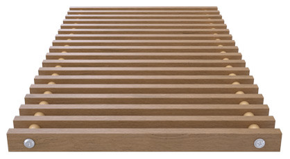 Roll-up wooden grill – jatoba – Verano