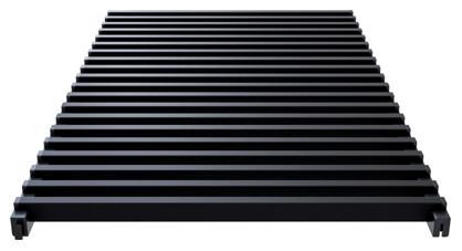 Modular aluminium grill anodized black- Verano