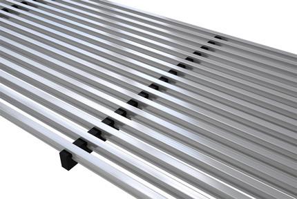 Linear aluminium grill – Verano