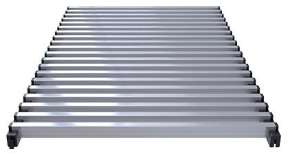 Modular aluminium grill, – Verano