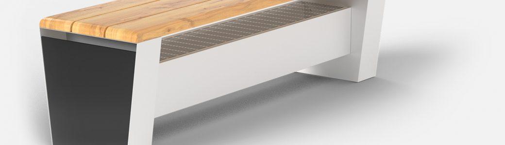 Heating bench COMODO Verano