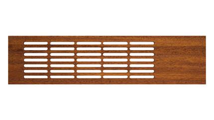 Wooden board grille merbau