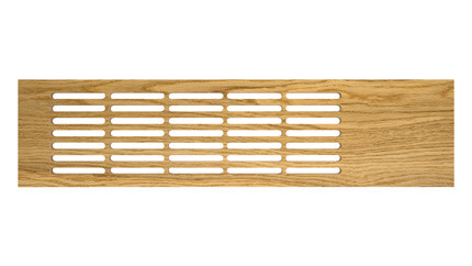 Wooden board grille oak