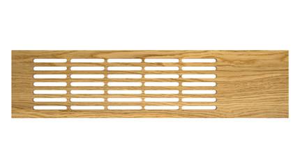 Wooden board grille oak